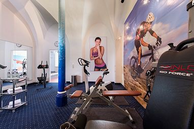 Radisson Blu Hotel Halle-Merseburg: Fitness-Center