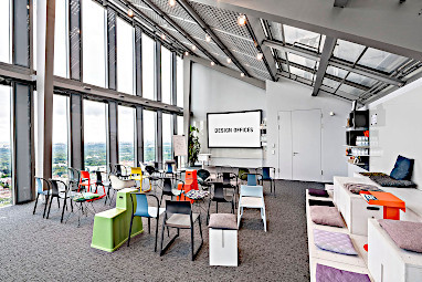 Design Offices München Highlight Towers: Restaurant